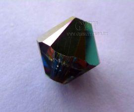 Kristály vitrál szivárványos - Swarovski Elements Bicone 8mm - 9379