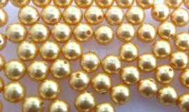 Kristály arany -  Swarovski Elements Pearl 4mm - 9622