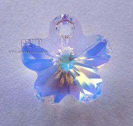 Kristály AB - virág - Swarovski Elements Flower - 6298