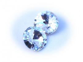 14mm Swarovski rivoli - Crystal