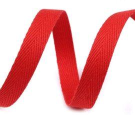 Köpler szalag - ékszer megkötőnek - piros