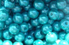Türkiz kék- üveg tekla 6mm