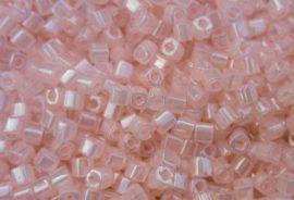 Ceylon rózsaszín - TOHO cube kockagyöngy 3mm