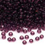 Átlátszó ametiszt lila - TOHO kásagyöngy 11/0 - 10gramm
