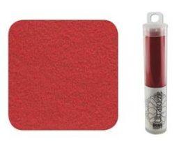 Ultra Suede 21,5x10,8cm, tubusban - Piros