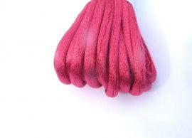 Pink - szatén zsinór 2mm vastag, 1m darab