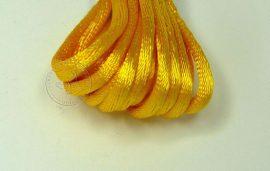 Világos sárga - szatén zsinór 2mm vastag, 1m darab